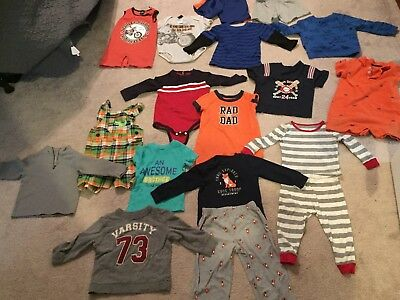 lot of 18 month old boy clothes