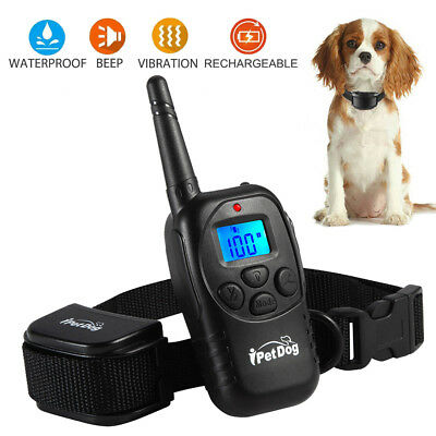 Dog Training Collar With Remote Waterproof Electric For Large 498 Yard Pet Shock