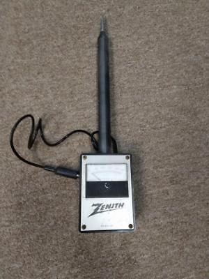 Vintage VERY SERIOUS Zenith High Voltage Probe Meter - 50KV DC - Yes, 50,000VDC!