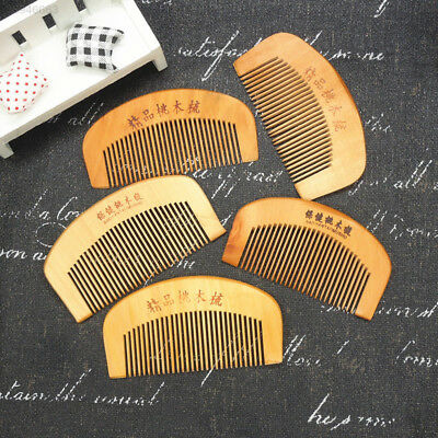 Month Comb Wooden Comb Health Care Hair Comb One Hundred Years Mood 1PS