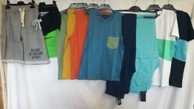 NEW Boys Clothing Bundle Joblot Trousers Top T Shirt Holiday Age 11 12 Years