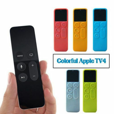 Remote Control Protective Case Cover For Apple TV 4 Silicone Dust Cover Holder