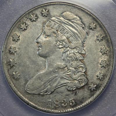 1835 Capped Bust Half Dollar ANACS XF40 - Sharp Details *DoubleJCoins* - 160-41