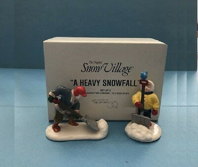 Department 56 Snow Village Retiree A Heavy Snowfall Accessory 54348 Dept56