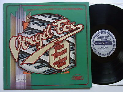 LP: Virgil Fox: The Fox Touch Volume Two (Limited Edition direct to disc; mint-)