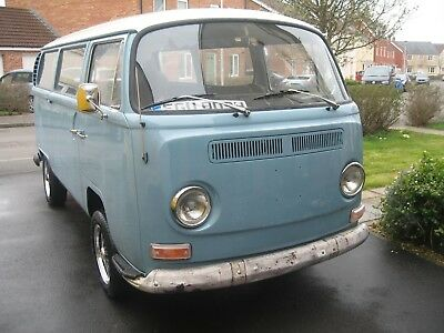 Vw T2 Lhd Early Bay Window 1970 Us Import No Reserve!
