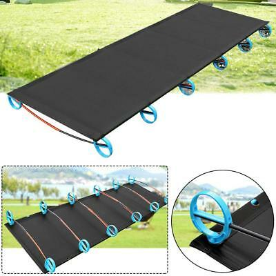 Camping Portable Folding Cot Bed Outdoor for Adults with Carry Storage Bag RS