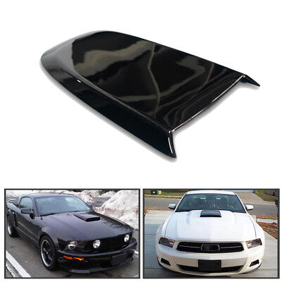 GT V8 Racing Hood Scoop For 2005-2009 Ford Mustang Replace ABS plastic newly