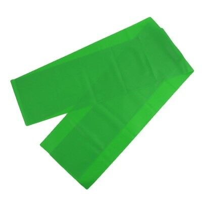 Gym Training Yoga Pilates Stretch Resistance Band Green 1.5M Length