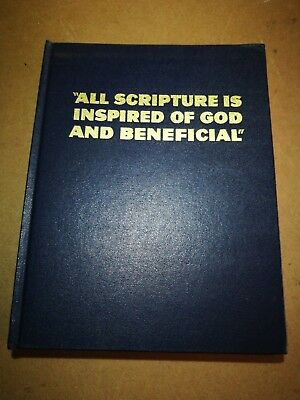 Jehovah's Witnesses, All Scriptures is inspired of God and beneficial book
