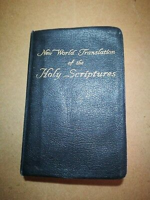 Jehovah's witnesses, New World Holy Scriptures, 1961, some marks inside