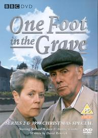 One Foot In The Grave Complete 2nd Series Dvd Brand New & Factory Sealed