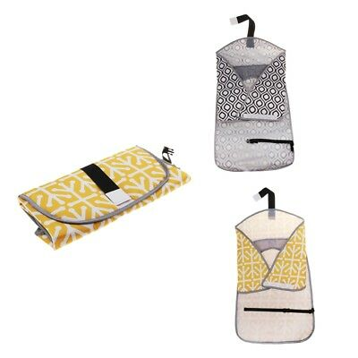 2Pcs Baby Changing Pad Diaper Changing Mat Diaper Clutch Changing Station