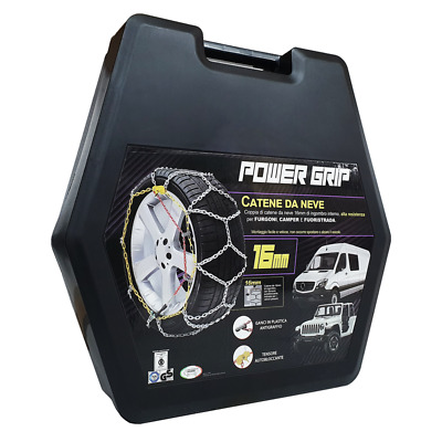 Catene da Neve Power Grip 16mm Gruppo 247 gomme 235/65r17 Great Wall Motor Hover