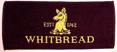 Tapis de bar WHITBREAD Established 1742 - Beer towel - serviette bière coton  UK