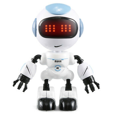 RC Robot Touch Sensing LED Eyes remote control Smart Voice Body Gesture Toy