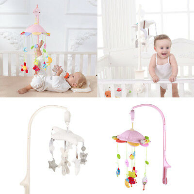 Baby Nursery Cot / Crib Mobile Toy with Soothing Musical Lullaby Sounds Play