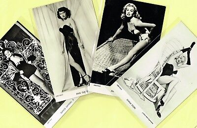 GREETINGS Cards -  Film Stars 1950s Postcard Size Cards issued in the UK #2