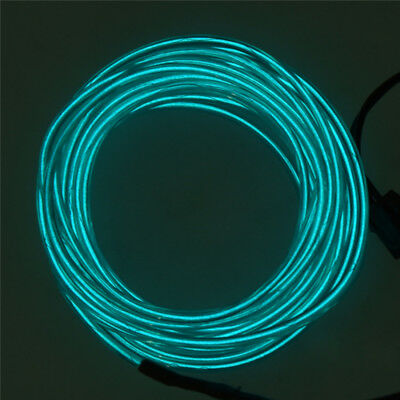 3M Flexible Neon Light EL Wire Rope Tube with Controller (Green) Y1H3