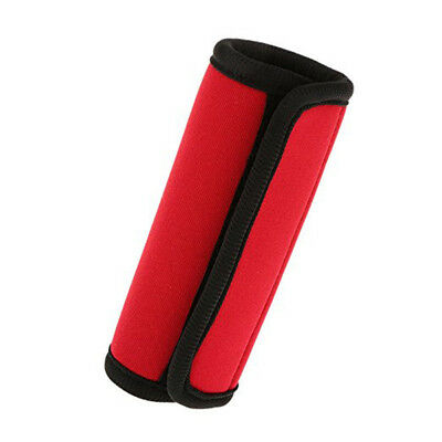 Travelling Luggage Suitcase Handle Comfort Wraps Identifier Tags Red Y1B4