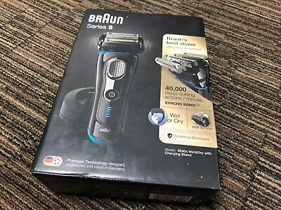 BrAun Series 9 9240s Wet & Dry Shaver With Charging Stand - 53932/52