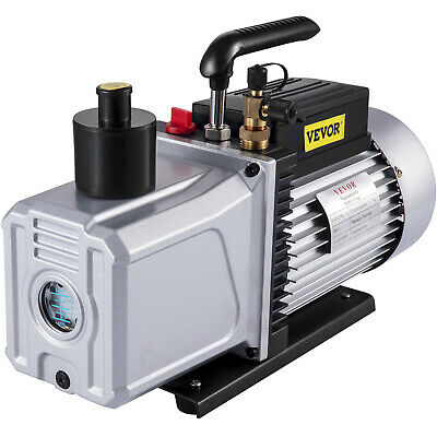 "12CFM Vacuum Pump Single Stage SAE 1/4"" refrigeration repair medical appliances"
