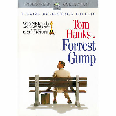 Forrest Gump DVD 2-Disc Special Collector's Edition Tom Hanks 6 Academy Awards