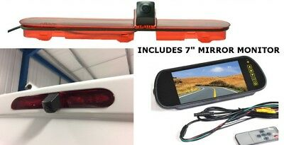 Citroen Dispatch Jumpy Van Reverse Reversing Brake Light Camera & Mirror Monitor