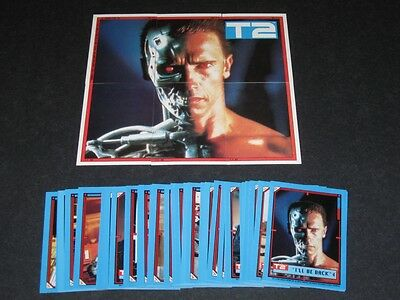 Terminator 2 - Judgement Day - Complete Trading Card Set (44) - Topps 1991 - NM
