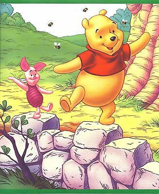 Winnie the Pooh 10 Ft Mural Wallpaper Border DGB6654