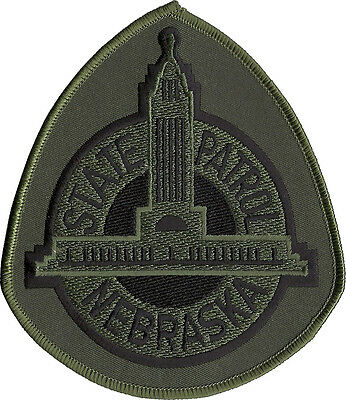 """Omaha Police Air Support Nebraska Shoulder Patch - 4 1/4"""" tall x 3 5/8"""" wide"""
