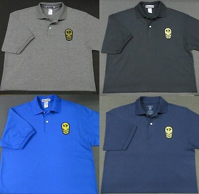 Virginia State Police Patch Polo Shirt - MED to 3XL - 4 Colors - NEW