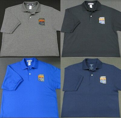 Arizona Dept. of Public Safety Patch Polo Shirt - MED to 3XL - 4 Colors - NEW