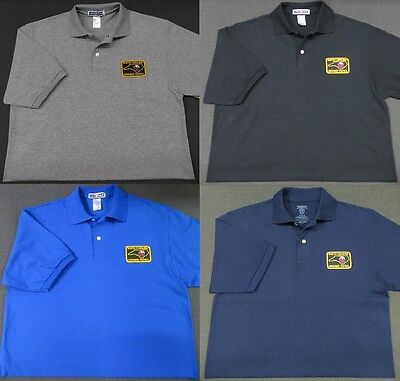 North Carolina Highway Patrol Patch Polo Shirt - MED to 3XL - 4 Colors - NEW