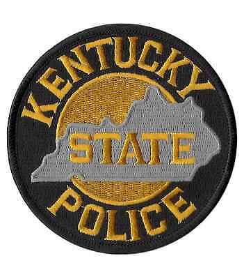 Kentucky State Police Shoulder Patch - 3 5/8 inches in diameter - NEW