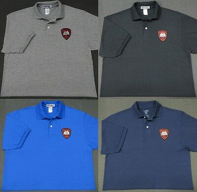 Rhode Island State Police Patch Polo Shirt - MED to 3XL - 4 Colors - NEW