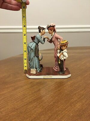Norman Rockwell Figurine - Dave Grossman - The First Day of School