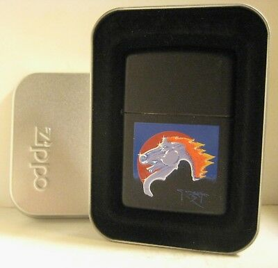 1996 Steve Miller Band Rock Album Art Zippo By Stanley Mouse Flaming Horse