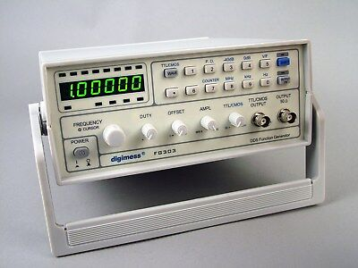 NEW digimess FG308 8MHz DDS function generator