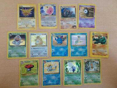 Pokemon Karten Set Holo Rare Alt