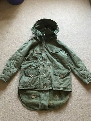 1950s British Army Middle Parka + Unissued Hood MOD Fishtail Scooter