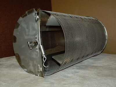Made In USA 10 Lb Capacity Outdoor Coffee Roaster System Drum, Rod, 60rpm Motor