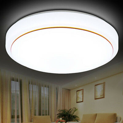 12W/18W/24W Round Led Ceiling Wall Fitting Light Ip44 Kitchen Bathroom Down Lamp