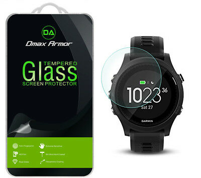 [3-Pack] Dmax Armor Tempered Glass Screen Protector for Garmin Forerunner 935