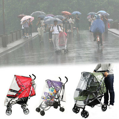 Baby Universal Waterproof Rain Cover Dust Shield Pushchair Cover Wheelchair