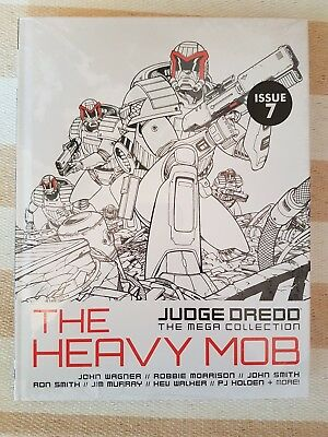 Judge Dredd The Mega Collection The Heavy Mob Volume 55.