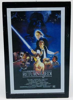 Hasbro Star Wars Three Sided Theater Movie Sheet Ornament Return Jedi Empire