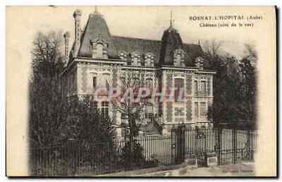 CPA Rosnay l'Hopital Parc Chateau