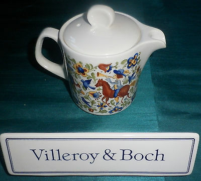 Cafetiere Theiere Individuelle Villeroy & Boch Decor Medieval Troubadour