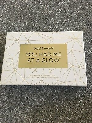 bareMinerals You Had Me At A Glow Dimensional Powder Palette Brand New